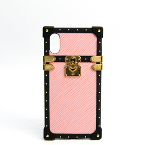 ルイ・ヴィトン(Louis Vuitton) エピ iPhone X & XS アイ・トランク ライト M67894 エピレザー バンパー iPhone X 対応 ノワール,ローズバレリーヌ