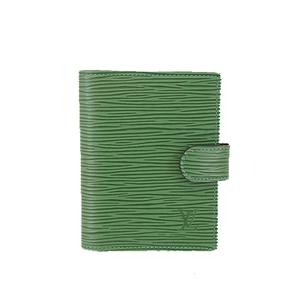 ルイヴィトン 手帳カバー エピ アジェンダミニ R20074 ボルネオグリーン