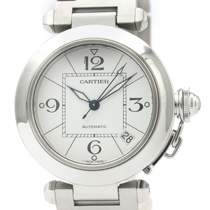 Cartier Pasha C Automatic Stainless Steel Unisex Dress Watch W31074M7