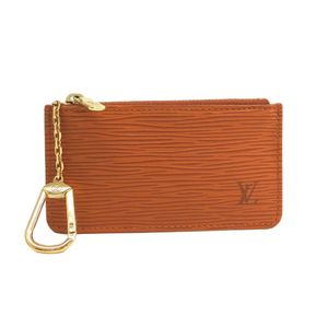 Louis Vuitton Epi M63803 Key Pouch Women's Coin Purse/coin Case Kenyan Brown