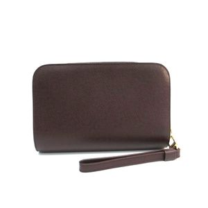 Louis Vuitton Taiga Baikal M30186 Men's Clutch Bag Acajou