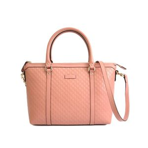 Gucci MicroGuccissima 449656 Women's Micro GG Leather Handbag Pink