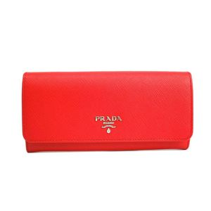 Prada 1MH132 Women's Long Wallet (bi-fold) Lacca