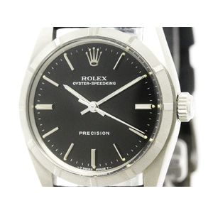 Rolex Oyster Speedking Mechanical Stainless Steel Unisex Dress Watch 6431