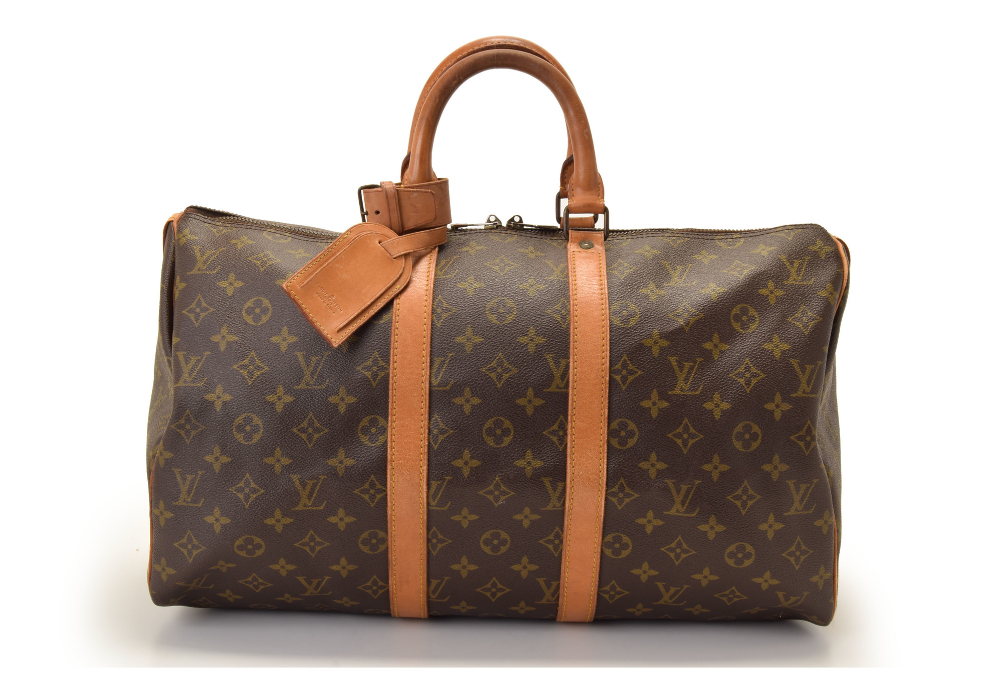 louis vuitton monogram keepall 45 m41428 damen boston. Black Bedroom Furniture Sets. Home Design Ideas