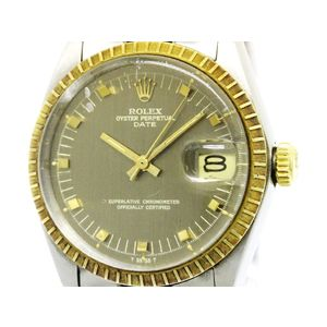 Rolex Oyster Perpetual Date Automatic Stainless Steel,Yellow Gold Men's Dress Watch 1505