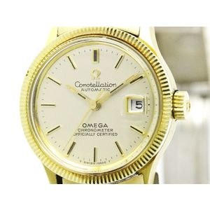 Omega Constellation Automatic Gold Plated Women's Dress Watch 568.016