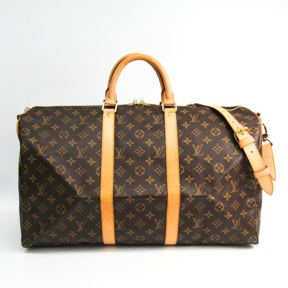 Louis Vuitton Monogram Keepall Bandouliere 50 M41416 Women's Boston Bag Monogram