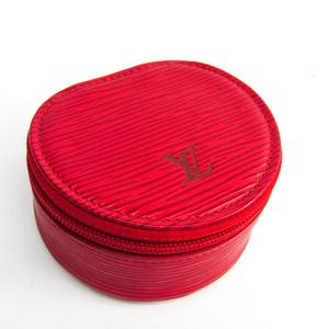 Louis Vuitton Epi Ecrin Bijoux8 M48217 Jewelry Case Castilian Red Epi Leather