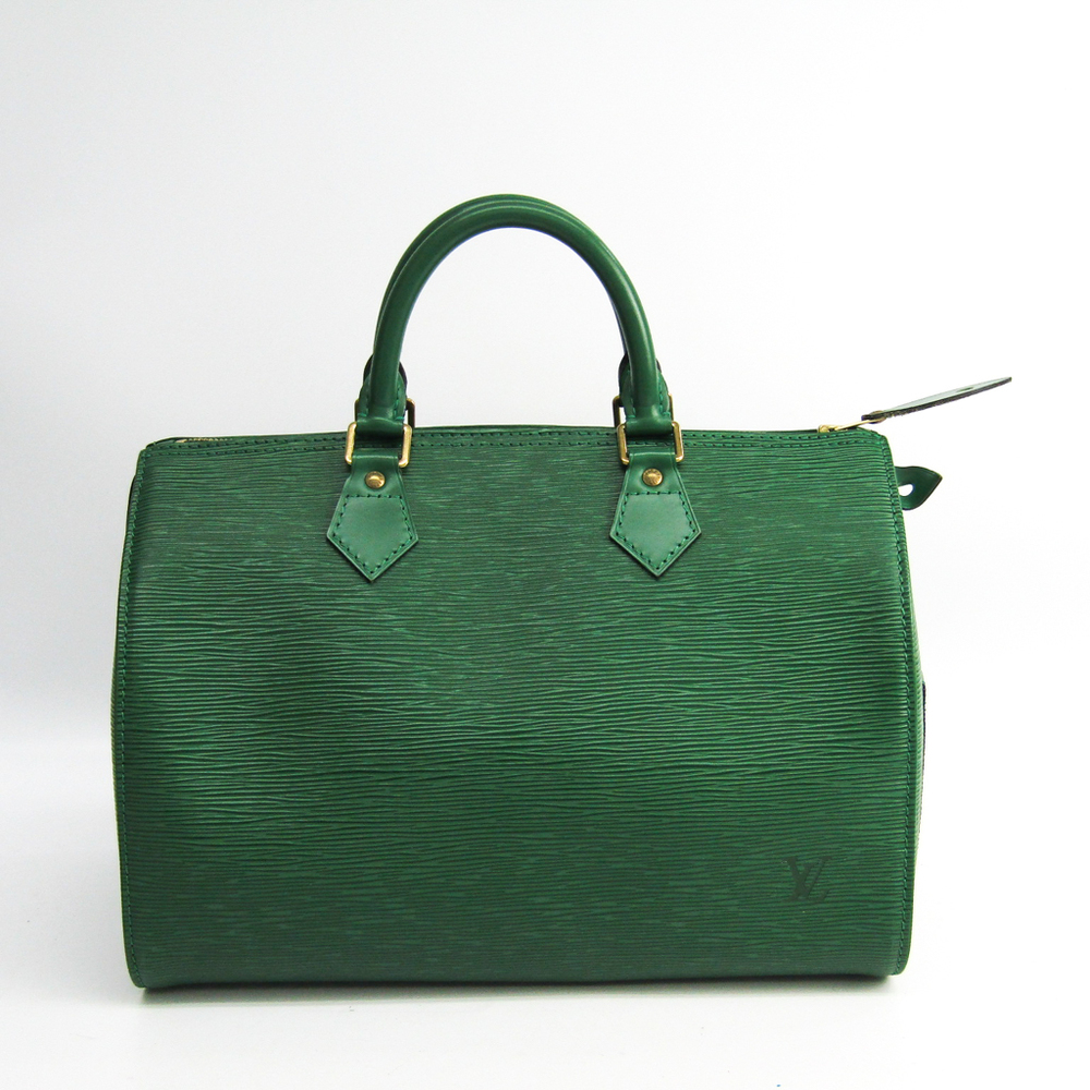 Louis Vuitton Epi Speedy 30 M43004 Women's Handbag Borneo Green