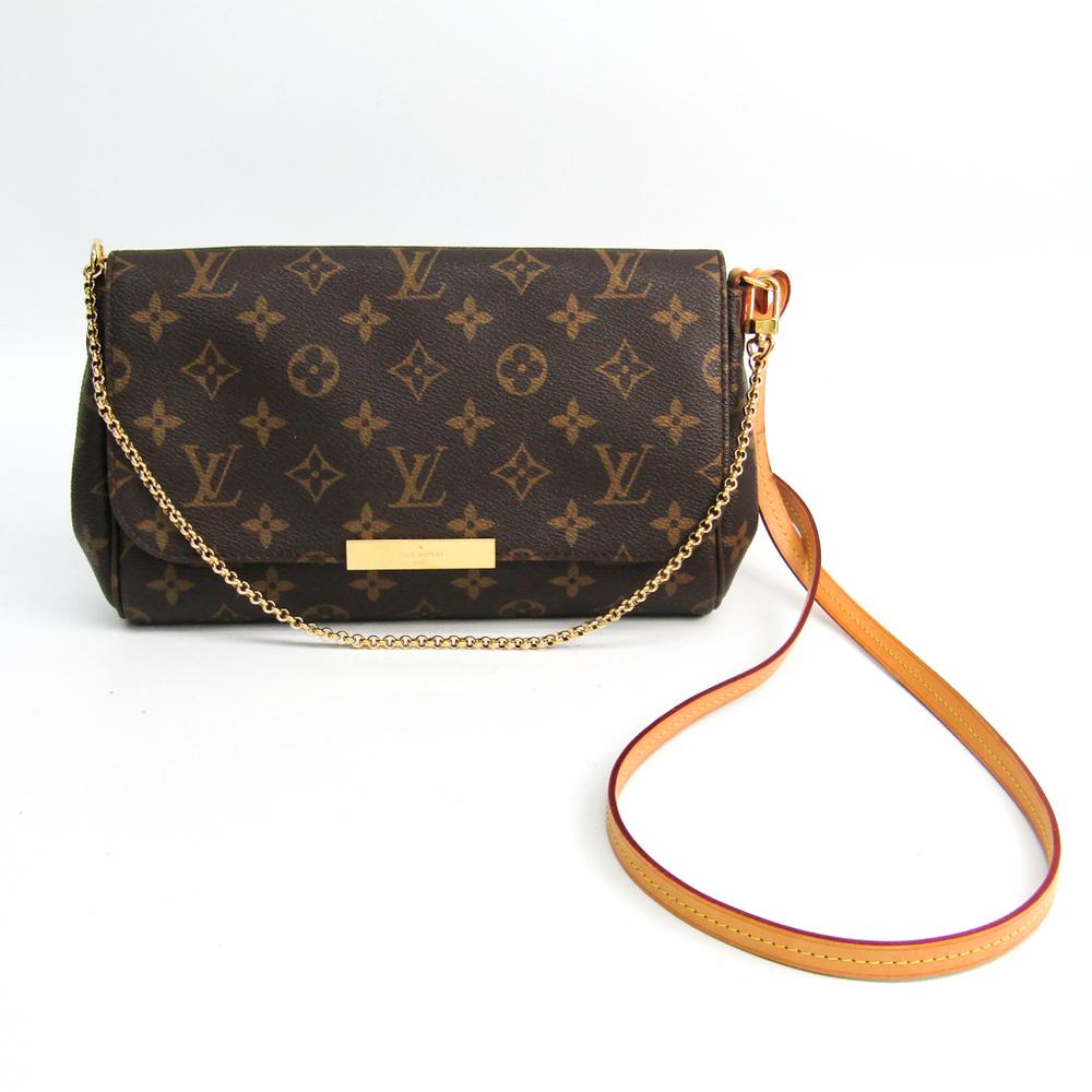Louis Vuitton Monogram Favorite MM M40718 Women's Shoulder Bag Monogram