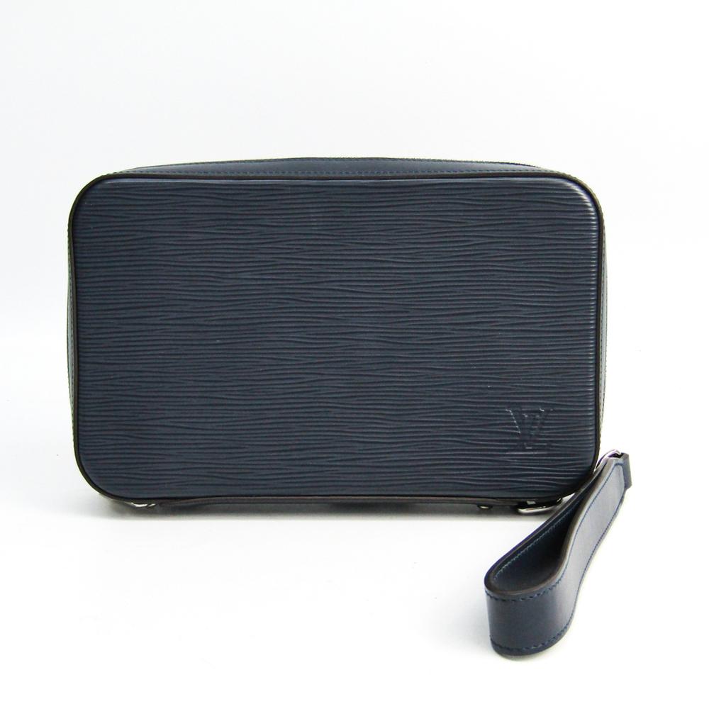ルイ・ヴィトン(Louis Vuitton) エピ ダンディウォレット M64001 メンズ エピレザー カードウォレット ブルーマリーヌ