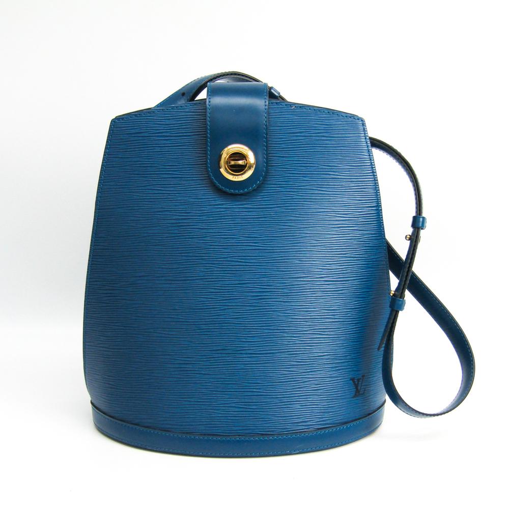 ルイ・ヴィトン(Louis Vuitton) エピ クリュニー M52255 ショルダーバッグ トレドブルー