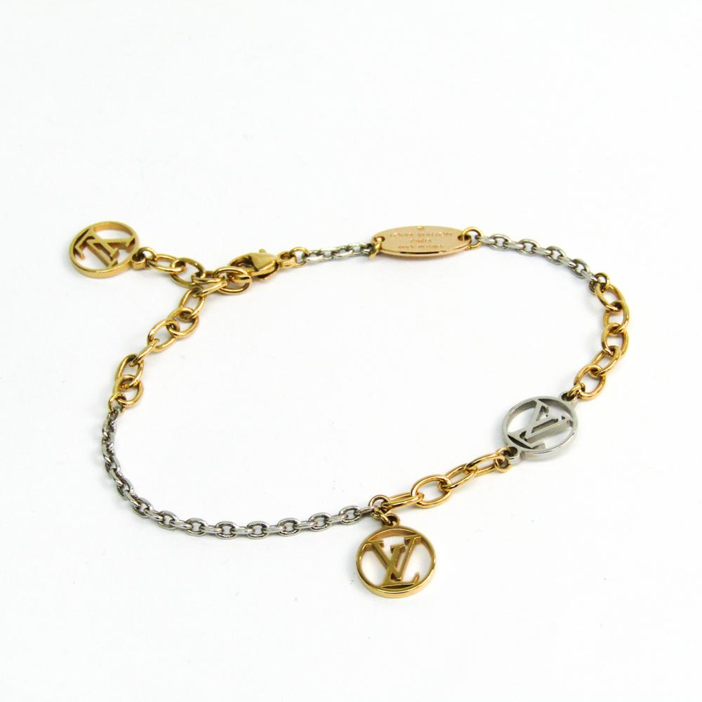 Louis Vuitton ブラスレ・ロゴマニア M68077 Metal Bracelet Rose Gold,Silver,Yellow Gold