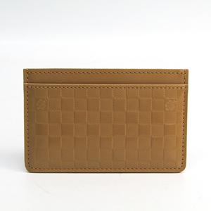 ルイ・ヴィトン(Louis Vuitton) ポルトカルトサーンプル  ダミエファセット Collection Printemps Ete 2013  カードケース キャメル