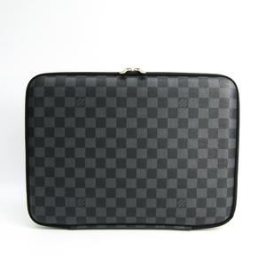 ルイ・ヴィトン(Louis Vuitton) ダミエ・グラフィット コンピューター・スリーブPM N58026 メンズ ブリーフケース ダミエ・グラフィット