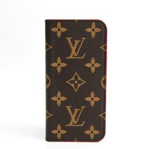 ルイ・ヴィトン(Louis Vuitton) モノグラム モノグラム 手帳型/カード入れ付きケース iPhone 7 対応 ローズ iPhone 8・7 フォリオ M61906