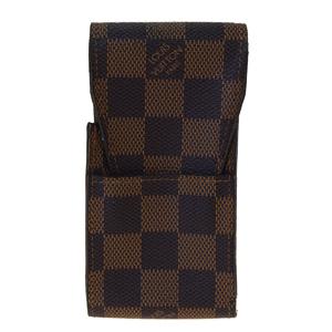 Louis Vuitton Damier Cigarette Case Ebene Etui Cigarette N63024