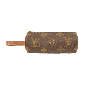Auth Louis Vuitton Monogram Golf Ball Bag (Brown)Etuy Troyes Boulder Golf M58249