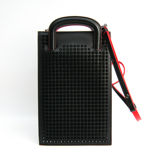 クリスチャンルブタン(Christian Louboutin) 1165005 レディース レザー ハンドバッグ ブラック,レッド
