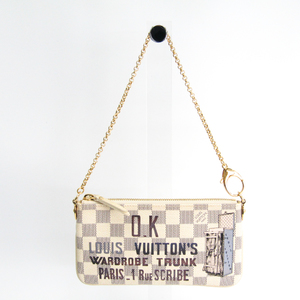 ルイ・ヴィトン(Louis Vuitton) ダミエアズール ポシェット・ミラMM N63090 レディース ハンドバッグ アズール