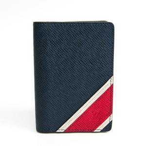 ルイ・ヴィトン(Louis Vuitton) タイガ オーガナイザードゥポッシュ  M64018 タイガ カードケース ネイビー,レッド,ホワイト