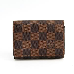 ルイ・ヴィトン(Louis Vuitton) ダミエ アンヴェロップ・カルト ドゥ ヴィジット N62920 ダミエキャンバス 名刺入れ エベヌ