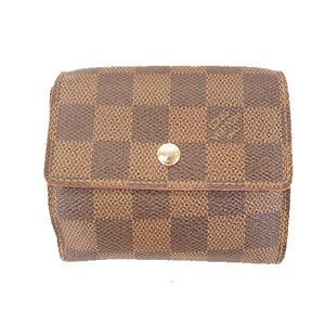 ルイヴィトン 三つ折り財布 ダミエ ポルトフォイユエリーズ N61654