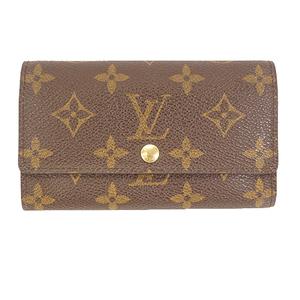 Auth Louis Vuitton Monogram M61735 Women's Monogram Wallet (bi-fold) Brown