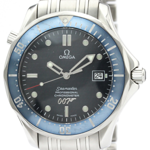 【OMEGA】オメガ シーマスター 300M 007 ジェームスボンド 40周年記念 限定 ステンレススチール 自動巻き メンズ 時計 2537.80