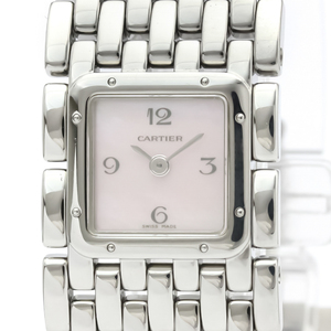 Cartier Ruban Quartz Stainless Steel Women's Dress Watch W61003T9