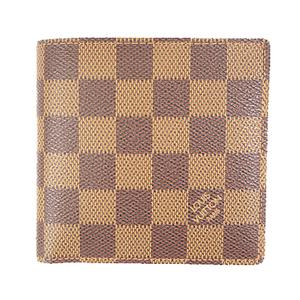 Auth Louis Vuitton Damier  Portefeiulle Marco N61675