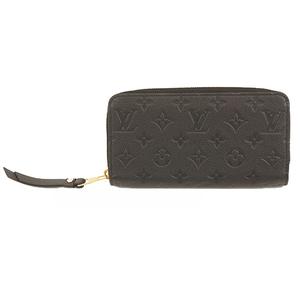 ルイヴィトン 二つ折り長財布 アンプラント ジッピーウォレット M60571 ノワール