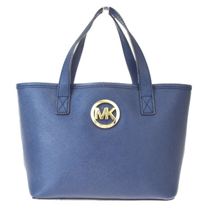 Michael Kors Leather Handbag Navy