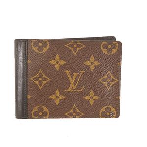ルイヴィトン 二つ折り財布 モノグラムマカサー ミンドロ  M60411