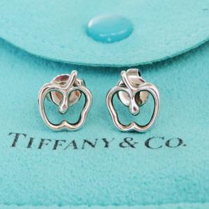 ティファニー(Tiffany) エルサ・ペレッティ アップル シルバー925 スタッドピアス シルバー