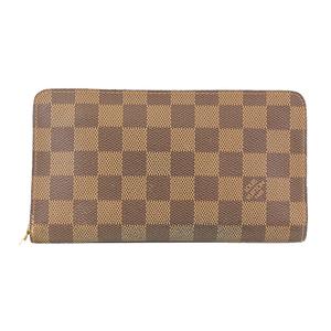 ルイヴィトン 二つ折り長財布 ダミエ ポルトモネジップ N61728