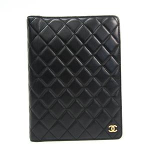 シャネル(Chanel) マトラッセ 手帳 ブラック アジェンダ