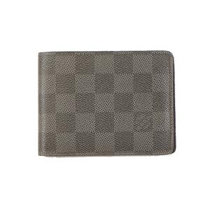 ルイ・ヴィトン(Louis Vuitton) ダミエ・グラフィット ポルトフォイユ・ミュルティプル/Portefeuilles Multiple/N62663 メンズ ダミエグラフィット 財布(二つ折り) ダミエ・グラフィット