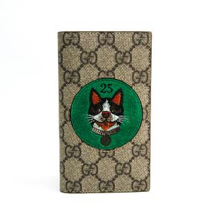 グッチ(Gucci) ボスコ 506282 GGスプリーム 手帳型/カード入れ付きケース iPhone 7 対応 ベージュ,ブラウン,グリーン