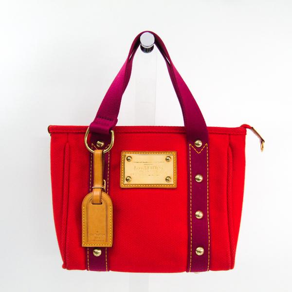 ルイ・ヴィトン(Louis Vuitton) アンティグア カバPM M40037 トートバッグ ルージュ