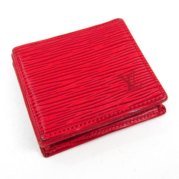 ルイ・ヴィトン(Louis Vuitton) エピ M63697 エピレザー 小銭入れ・コインケース カスティリアンレッド