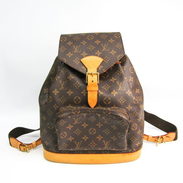 Louis Vuitton Monogram Montsouris GM M51135 Women's Backpack Monogram