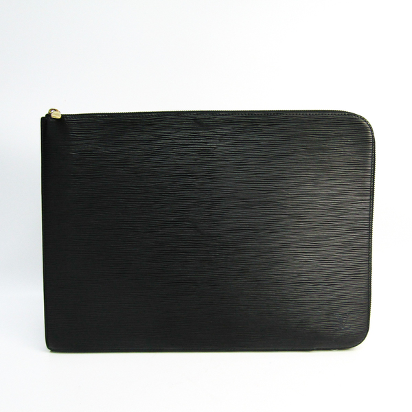 Louis Vuitton Epi Poche Documents M54492 Unisex Document Case Noir