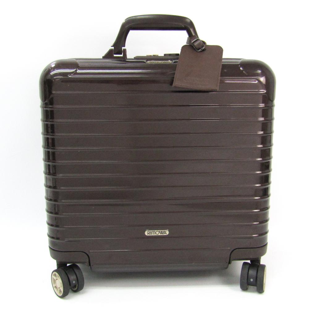 リモワ(Rimowa) Salsa Deluxe ハードケース スーツケース ブラウン SALSA DELUXE 29L