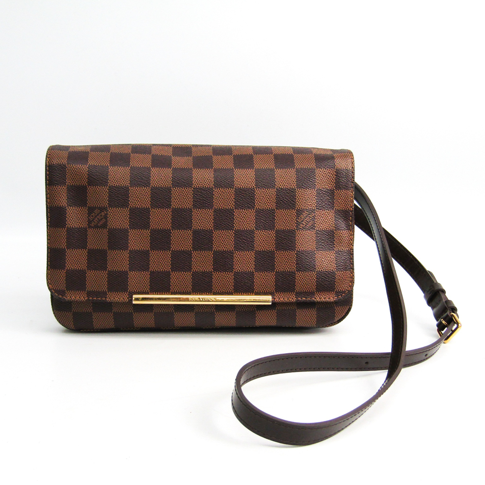 ルイ・ヴィトン(Louis Vuitton) ダミエ ホクストンPM N41257 レディース ショルダーバッグ エベヌ