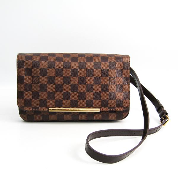 Louis Vuitton Damier Hoxton PM N41257 Women's Shoulder Bag Ebene