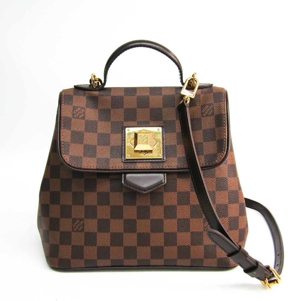 ルイ・ヴィトン(Louis Vuitton) ダミエ ベルガモPM N41167 ハンドバッグ エベヌ