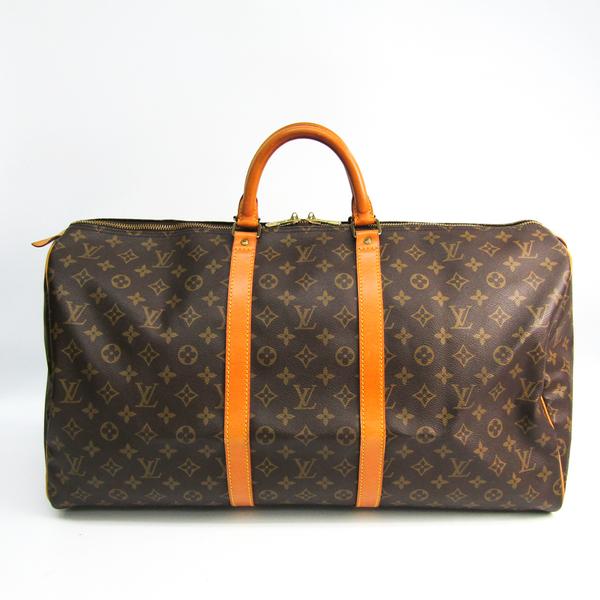 Louis Vuitton Monogram Keepall 55 M41424 Women's Boston Bag Monogram