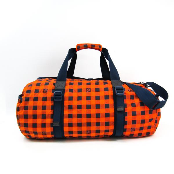 Louis Vuitton Damier Aventure Practical N41232 Men's Boston Bag Orange